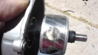 getlinkyoutube.com-Fan motor converted  to a generator motor