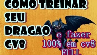 getlinkyoutube.com-CLASH OF CLANS - CV8  ATAQUE DE DRAGAO + BALOES pra 100%  ( em anti-aéreas lv6 + dispersor )
