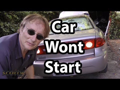 How to Fix a Car that Won't Start When You Turn the Key