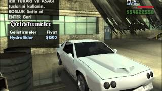 getlinkyoutube.com-Gta San Andreas - Araba Modifiye ( Car Modified )