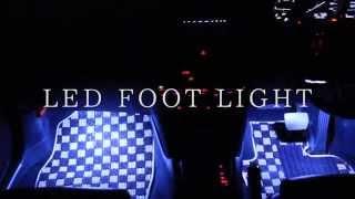 getlinkyoutube.com-LED フットライト | ディーラーオプション級の高機能フットライト