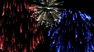 getlinkyoutube.com-Red, White, and Blue Fireworks [After Effects]