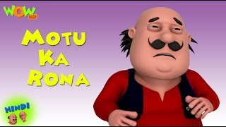 getlinkyoutube.com-Motu Ka Rona - Motu Patlu in Hindi