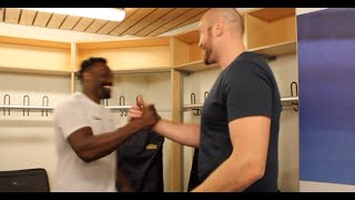 getlinkyoutube.com-'LETS GET THIS MOTHERF***** BEAT' - TYSON FURY TO DERECK CHISORA *EXCLUSIVE DRESSING ROOM FOOTAGE*