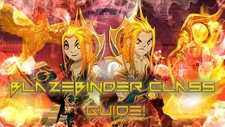 getlinkyoutube.com-AQW: Blaze Binder Class Guide! (Enchantments, Combos, Solo, Review, Weapon Range Recommended)