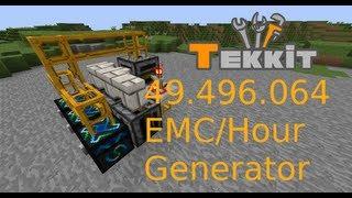 getlinkyoutube.com-[Tekkit] Schnellster und kleinster EMC Generator (49.496.064 EMC/Stunde)