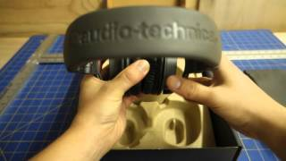 getlinkyoutube.com-Limited Edition Matte Grey ATH-M50x Unboxing