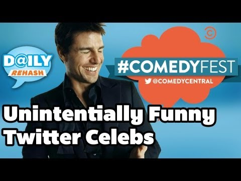 Unintentionally Funny Celebrities on Twitter #ComedyFest I DAILY REHASH | Ora TV