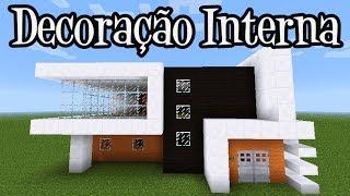 getlinkyoutube.com-Tutoriais Minecraft: Decoração Interna da Casa Moderna 5