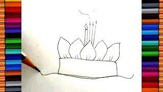 getlinkyoutube.com-Drawing Krathong: วาดรูปกระทง กับพี่จุ๊บ