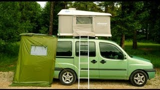 getlinkyoutube.com-DOBLO CAMPING-CAR vol 1 (LOUL)