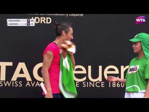 2017 Bogota Shot of the Day Semifinals   Francesca Schiavone