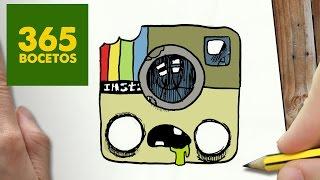 getlinkyoutube.com-COMO DIBUJAR LOGO INSTAGRAM ZOMBIE KAWAII PASO A PASO - Dibujos kawaii faciles - draw a Instagram