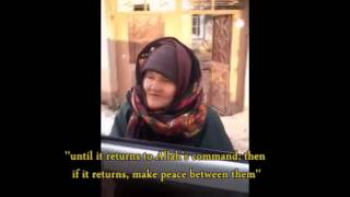 MUST WATCH   Wise Muslim Mother stands up against ISIS !