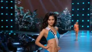 China - Miss Universe 2018 - Preliminary Competition