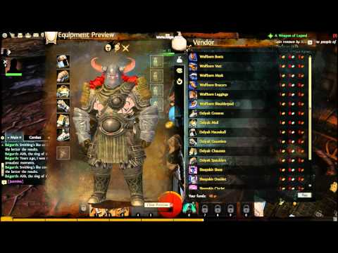 Guild Wars 2 Human and Norn Racial Armors (HD)