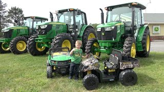 getlinkyoutube.com-LITTLE BOY LOVES JOHN DEERE TRACTOR COMPANY