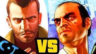 getlinkyoutube.com-Niko vs Trevor - Grand Theft Auto Face Off