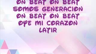 getlinkyoutube.com-On Beat- Violetta (Lyrics)