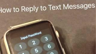 getlinkyoutube.com-Notifications Text Reply Add Apps WATCH MTK2502C R