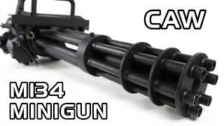 getlinkyoutube.com-史上最高の電動ガン!CAW M134 MINIGUN AEG