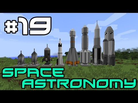 Minecraft Space Astronomy - OP Mega Laser! #19