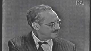 getlinkyoutube.com-What's My Line: Groucho Steals the Show