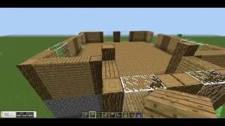 Minecraft Construction Handbook: Wooden House Tutorial