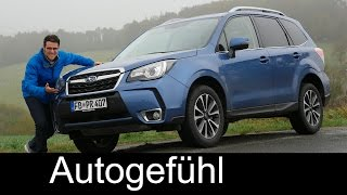 getlinkyoutube.com-Subaru Forester XT FULL REVIEW test driven Facelift 2017 new/neu - Autogefühl