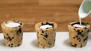 getlinkyoutube.com-Milk and Cookie Shots Recipe | Eat the Trend