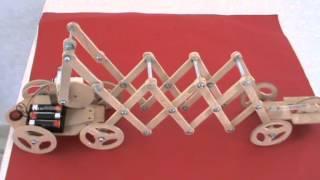 getlinkyoutube.com-Arahal  Robot gusano tijera  Robot worm scissors  Ramos