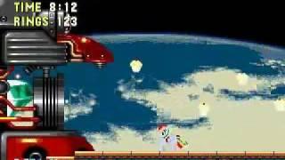 getlinkyoutube.com-Sonic & Rainbow Dash (Genesis hack) Final Boss and Best Ending with Rainbow Dash
