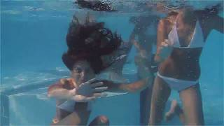 getlinkyoutube.com-Girls swimming at the pool