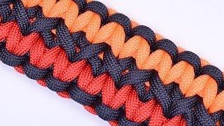 getlinkyoutube.com-Make the Double Wide Soloman Paracord Survival Bracelet - BoredParacord