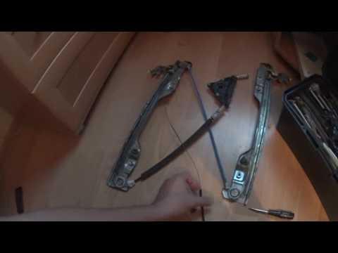 #Ремонт машины, #INFINITI EX. Инфинити ЕХ-ремонт подъемника стекла водительской двери.