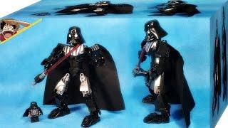 getlinkyoutube.com-ksz 스타워즈 다스 베이더 75111 레고 짝퉁 배틀 피규어 조립 리뷰 Lego knockoff Star Wars Darth Vader disney battle figures