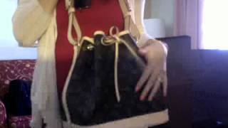 getlinkyoutube.com-Louis Vuitton Petite Noe in mono and more LV