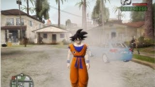 getlinkyoutube.com-GTA San Andreas - Dragon Ball Mod