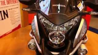 getlinkyoutube.com-2016 Honda Crosstourer Highlander-T DCT Walkaround @ Motorcycle Live 2015
