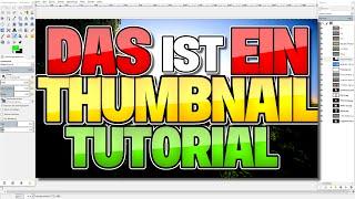 getlinkyoutube.com-Einfach THUMBNAILS erstellen - KOSTENLOS! | Gimp Tutorial [GER]