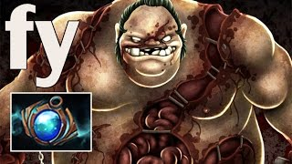 getlinkyoutube.com-fy Pudge pick Aether Lens VG vs LGD Dota 2