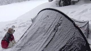 Hilleberg Akto in the Snow