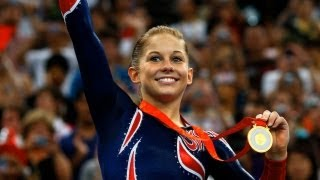 getlinkyoutube.com-Shawn Johnson's Gold Medal Moment: 2008 Beijing Olympic Games