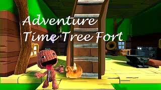 getlinkyoutube.com-Adventure Time Tree Fort - LittleBigPlanet 3 LBP3 PS4