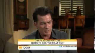 getlinkyoutube.com-Charlie Sheen Goes CRAZY on The Today Show