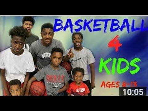 Youth Basketball Drills For Kids - 8-15 yr old