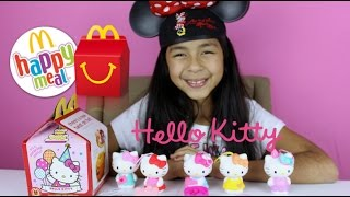 getlinkyoutube.com-McDonald's Hello Kitty Surprise Happy Meals Toys | McDonalds Toys
