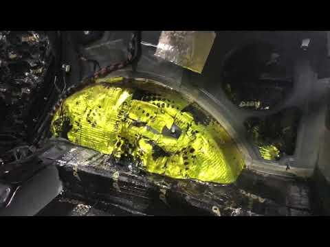 Jeep Cherokee шумоизоляция. Шум и все негативные проявления минимизированы, в салоне комфорт