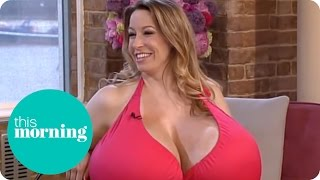 getlinkyoutube.com-The Biggest Boobs In The World | This Morning
