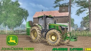 getlinkyoutube.com-Farming Simulator 2015 John Deere 7280R + Amazone Cayron 200 HD